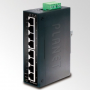 Planet IP30 Slim type 8-Port Industrial Gigabit Ethernet Switch (-40 to 75 C)